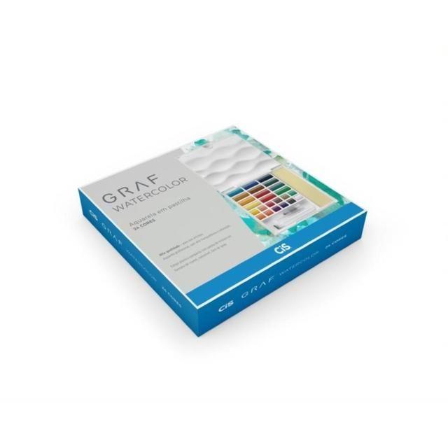 Aquarela Profissional Graf Cis - 24 cores