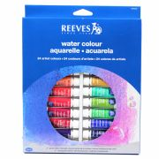 Aquarela Reeves 24 cores Bisnaga