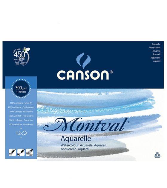 Bloco Canson Montval Aquarela 300gm - A4