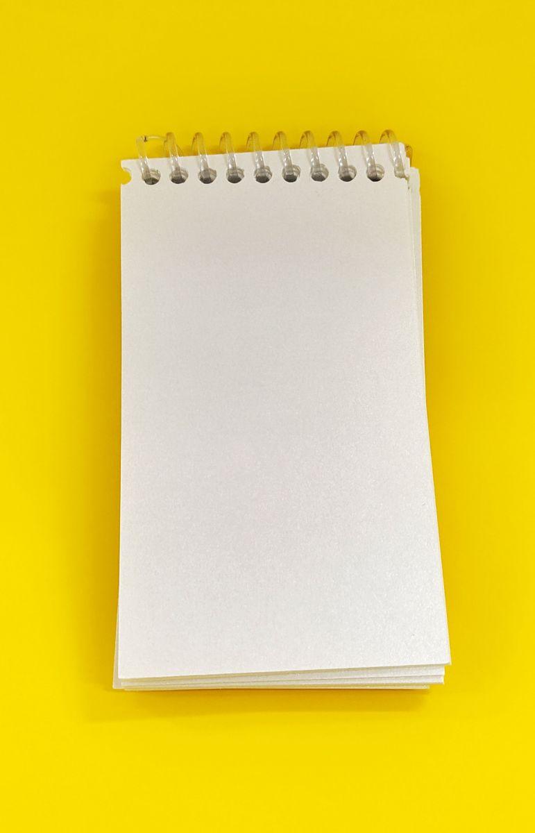 Bloquinho Lettering P