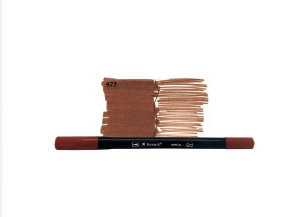Brush Pen Dual Bismark - 977