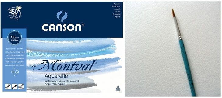 Papel Canson Montval Avulso - A3 300gm