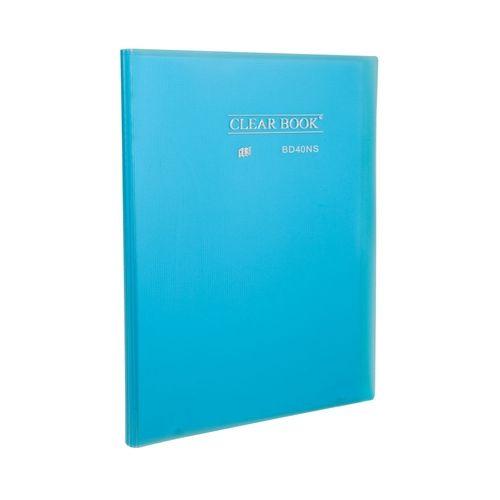 Pasta Catálogo - Clear Book Azul