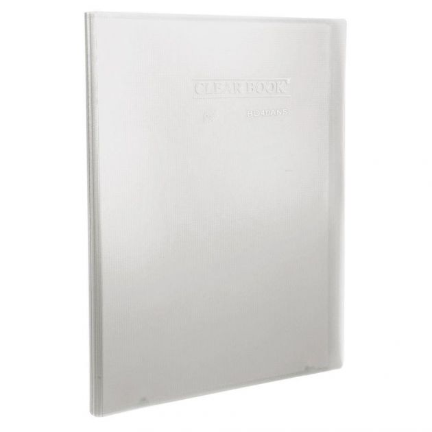 Pasta Catálogo - Clear Book Cristal