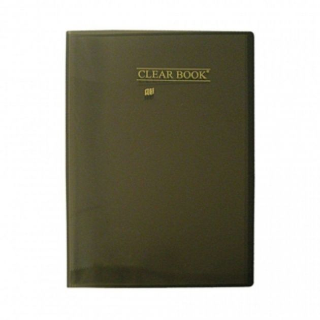 Pasta Catálogo - Clear Book Preta