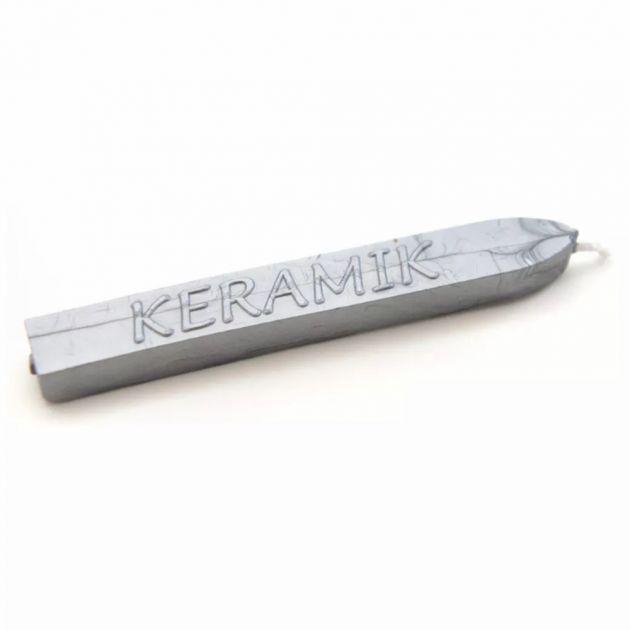 Cera P/ Lacre Keramik - Prata