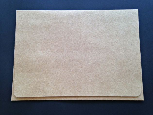 Envelope Janela - Kraft