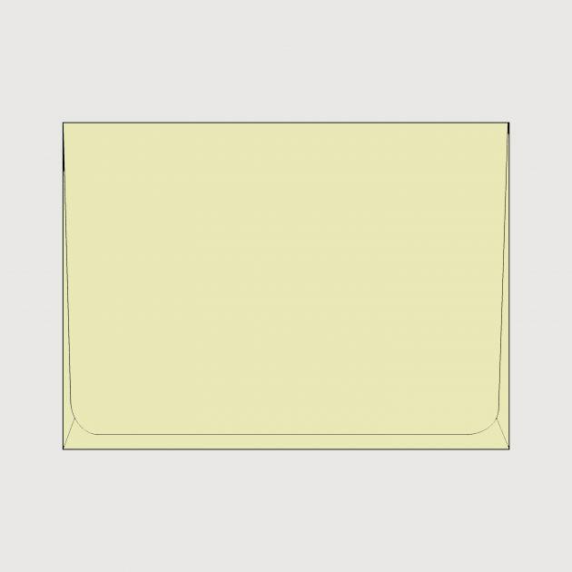 Envelope Janela mini - Marfim