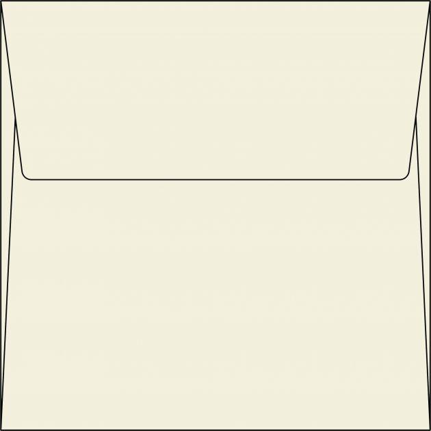 Envelope Quadradinho - Marfim