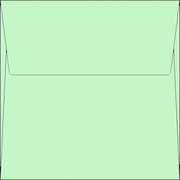 Envelope Quadradinho - Tahiti