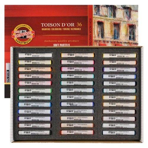 Giz Pastel Seco K-I-N 8515 - 36 Cores