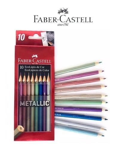 Lápis de cor Faber Castell Metallic