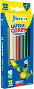 Lapis de cor Norma Triangular - 12 Cores