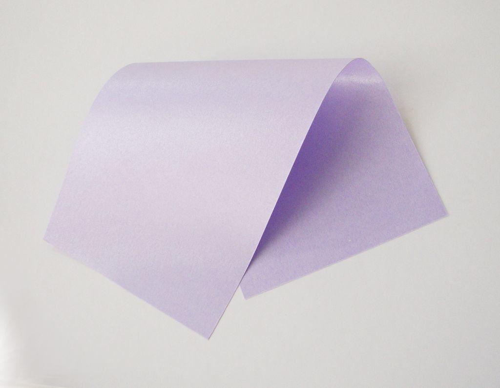 Papel Perolizado Lilac A4 180gm - Unidade