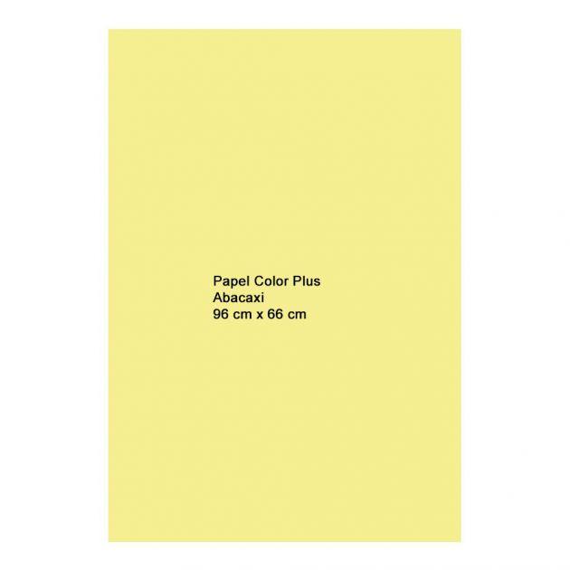 Papel Color Plus  Abacaxi 180g A1