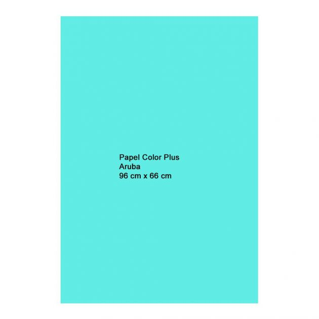 Papel Color Plus Aruba 120g A1