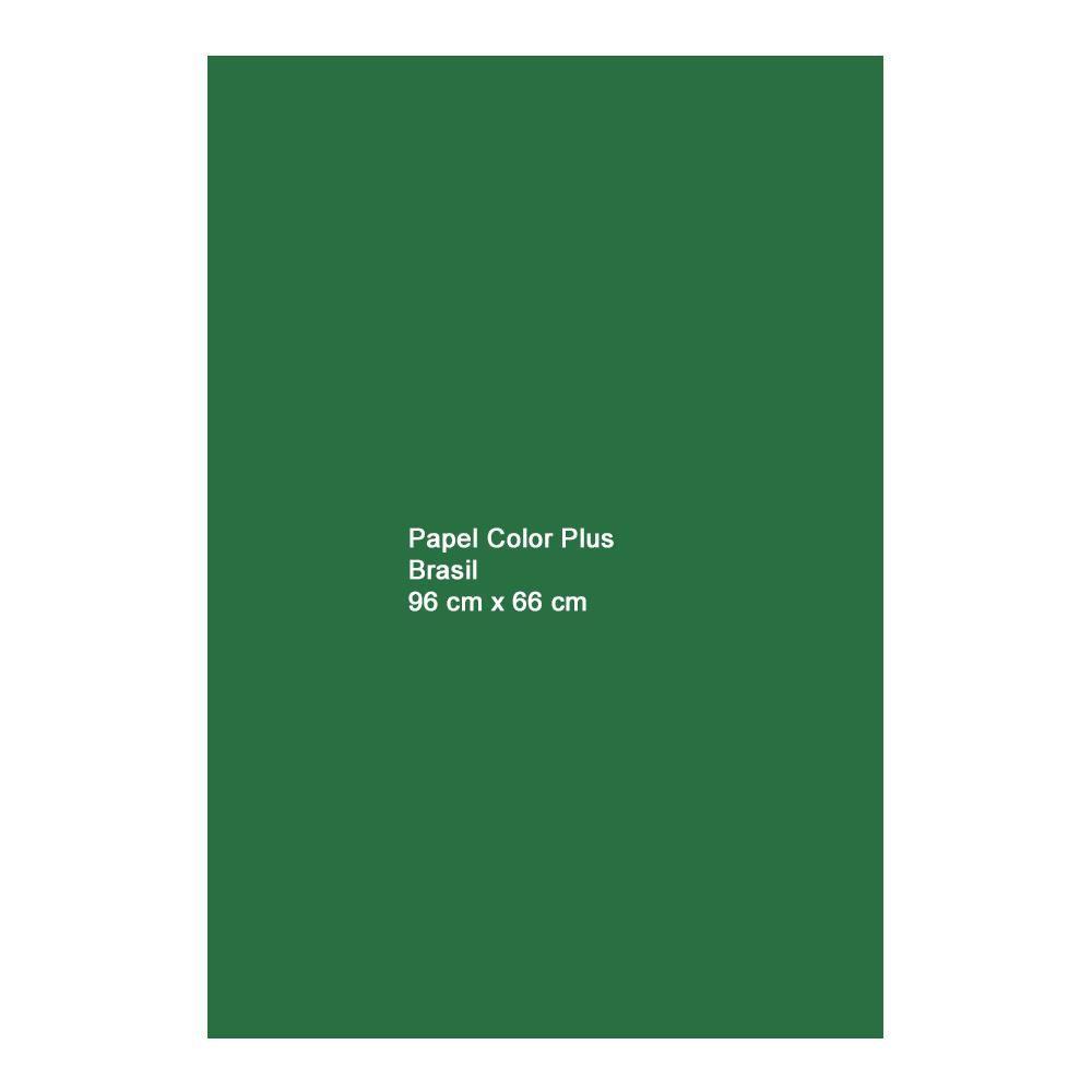 Papel Color Plus Brasil 120g A1