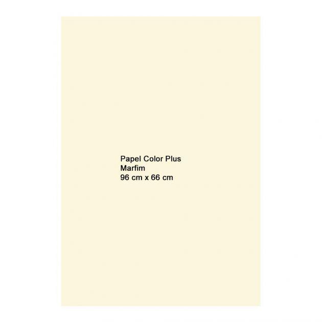Papel Color Plus Marfim 120g A1