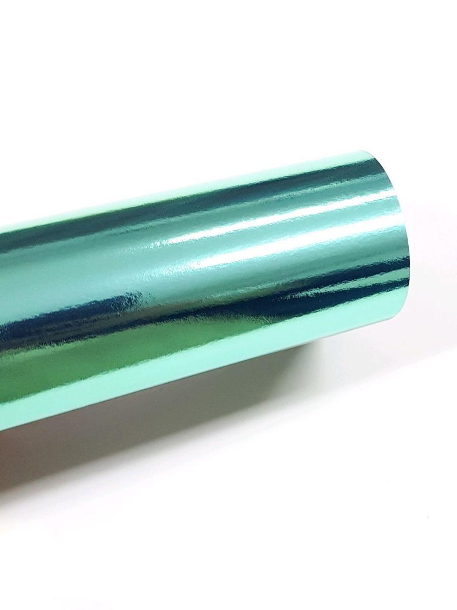 Papel Metallik Laminado - Verde 180g