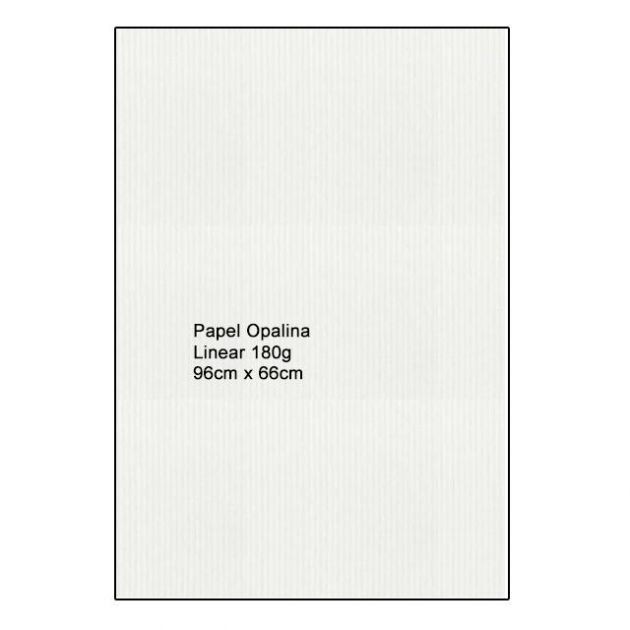 Papel Opalina Linear A1 180g