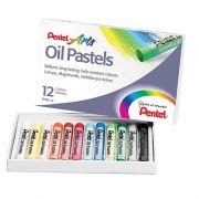 Giz Pastel Oleoso - PHN 12 Cores