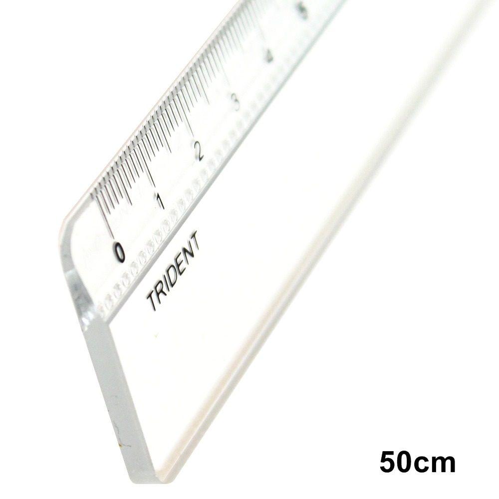 Régua Trident Acrílica - 50 cm