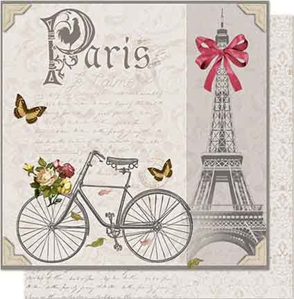 Papel de Scrap Litoarte - SD-655