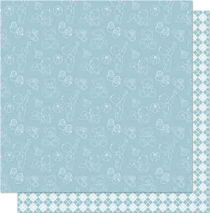 Papel de Scrap Litoarte - SD-678