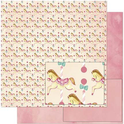 Papel de Scrap Litoarte - SD-922