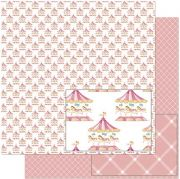 Papel de Scrap Litoarte - SD-923