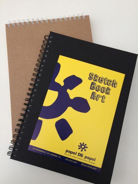 Sketch Book Papel de Papel - Lateral