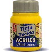 Tinta para Tecido Acrilex - Amarelo Ouro