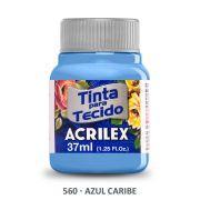 Tinta para Tecido Acrilex - Azul Caribe