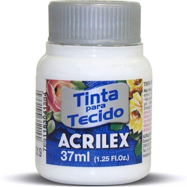 Tinta para Tecido Acrilex - Branca